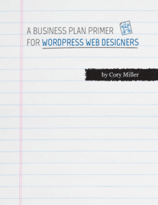 Web Design Business Plan Primer